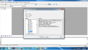 browse the LPC2129 as target in KEIL uVISION3