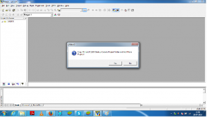 copy the start up file in the project in KEIL uVISION3