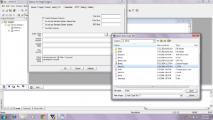 linker flash.ld file