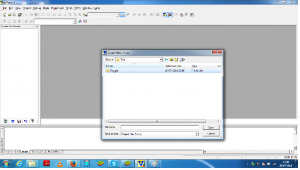 locate the folder for new project in KEIL uVISION3