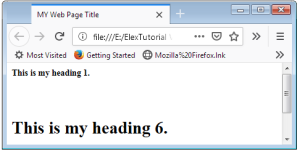 HTML Inline Style CSS