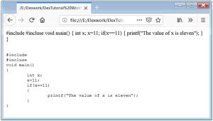 HTML pre Tag HTML pre