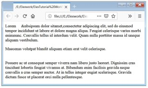 Paragraph Tag- In HTML.