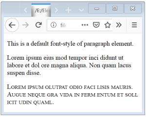 CSS Font Variant CSS Font Small Caps