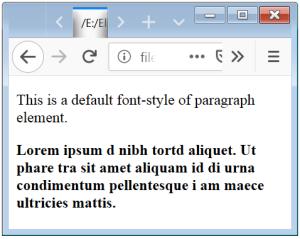 CSS Font Weight