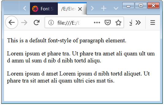 CSS Font Weight CSS Bold CSS Lighter
