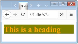 External Style Sheet External CSS