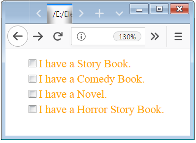 Checkbox Design Example with CSS Properties