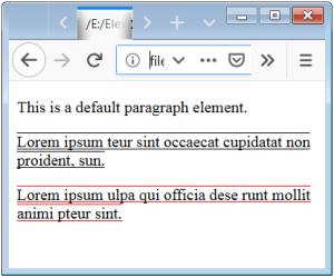 Text Decoration Color CSS Text Decoration Color CSS Underline Color