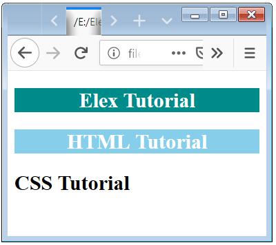 CSS Multilevel Descendant Selector