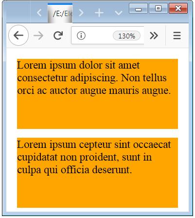 Font Size Changed When Width is Below 550px
