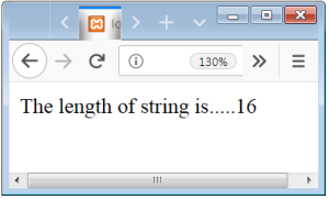 PHP String Length Function