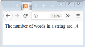 PHP String Word Count Function