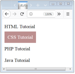 Adjacent Sibling CSS Selector