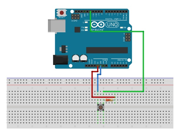 Arduino LED Control with Button or Switch Interfacing as Digital Input with digitalRead Function