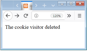 Delete Cookie PHP