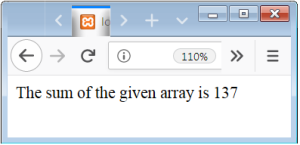 PHP Array With Loop