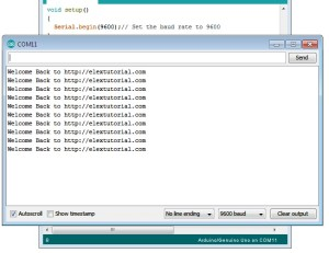 Arduino Serial Print Function to Send String Text Program Code