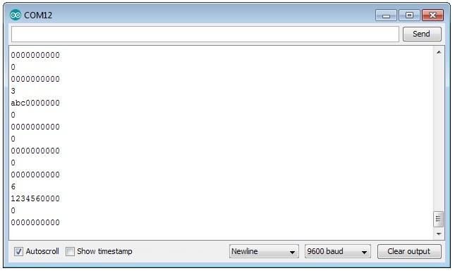 Arduino Serial Read Bytes Until readBytesUntil() Function Example