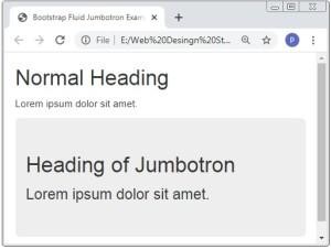 Bootstrap 3 Jumbotron Examples